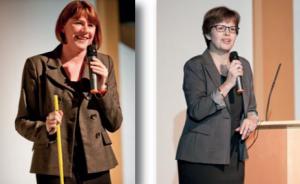 Valérie Romain, Chargée de Mission Handicap chez Nestlé en France et Marie-Françoise Tauc, Directrice Responsabilité Sociale d'Entreprise de Nestlé en France