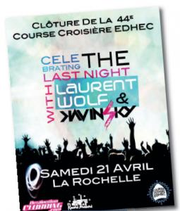 Celebrating the Last Night pour la soirée de clôture de la 44e CCE