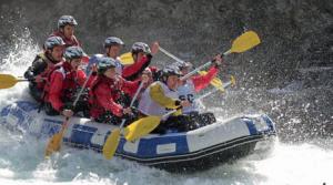 L'acti-fun du jour : le rafting !