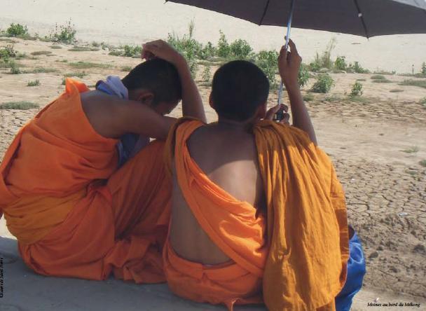 Laos : le maître secret du Vat Nong Sikhounmuang à Luang Prabang