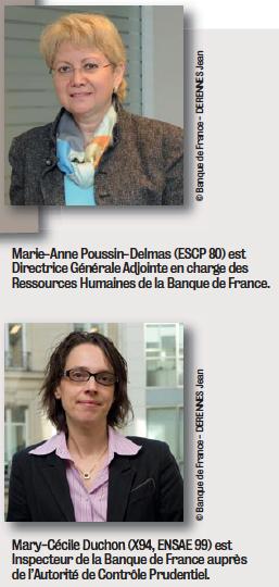 La Banque de France joue la carte de la parité