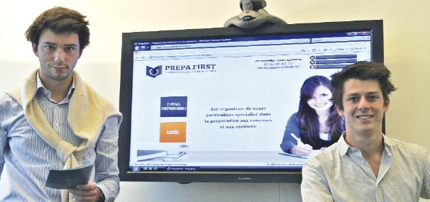 Prépa First : le nouveau soutien scolaire « haut de gamme » fait PAR et POUR des étudiants