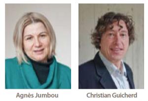 Agnès Jumbou et Christian Guicherd