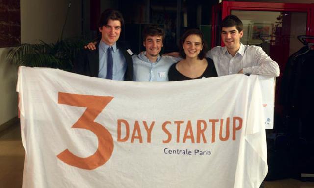 3 Day Startup Paris – Vous avez toujours rêvé d'être entrepreneur ? Le 3 Day Startup organisé à l'Ecole Centrale Paris est là pour vous aider à entrer dans l'aventure !
