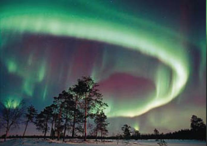 Chasse aux aurores boréales en Laponie !