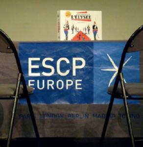 """Le jeu """"La course à l'Elysée"""": Tribunes et Escp'ression associent leur passion pour la politique et l'éloquence"""