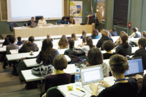 La Journée de l'emploi  des docteurs en SHS est organisée  en partenariat avec l'Université de Lyon