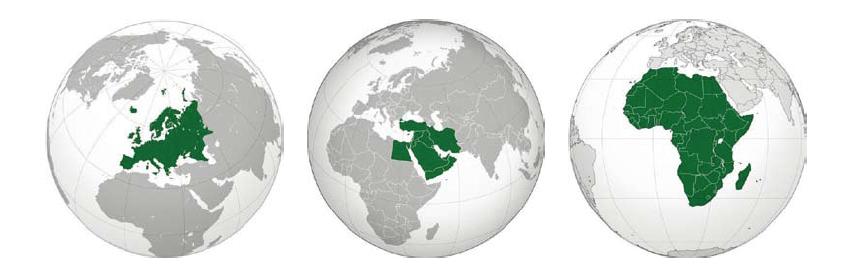 Directeur EMEA : en charge d'un tiers du monde !