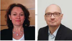 Cécile Falchier (ESCP Europe 92), Directrice Administration et Finance EMEA et Eric Dupuy (Dauphine 06), Président Business Development EMEA