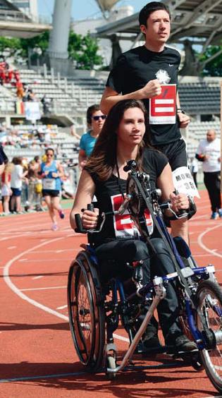 Nouveau tour de piste pour la Team Tremplin « Le handicap tu dépasseras»