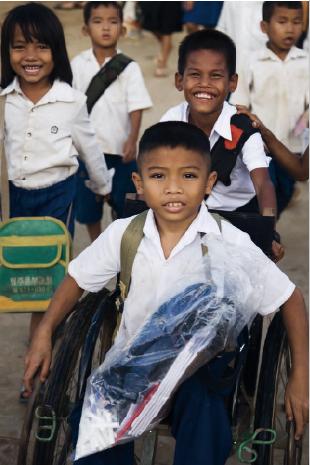 Handicap International – Le pari de la solidarité globale