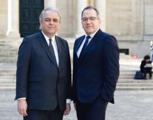 Barthélémy Jobert et Jean Chambaz © Laurent Ardhuin pour l'UPMC