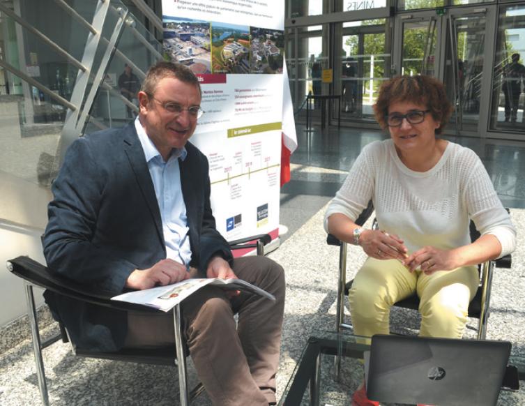 De la recherche scientifique à l'innovation en entreprise, quels leviers pour l'Ecole des Mines de Nantes ?