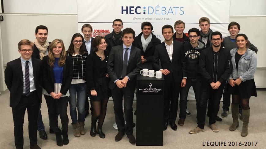 HEC Débats – Elever le débat, l'ouvrir à tous