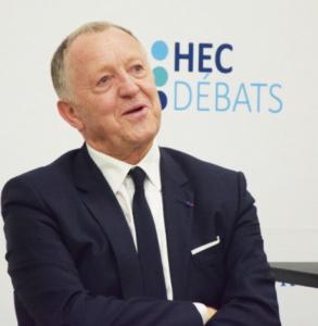 Jean-Michel Aulas à HEC Débats © HEC Débats