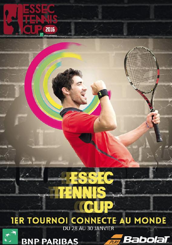 L'ESSEC TENNIS CUP REVIENT EN 2017 POUR UNE ÉDITION 2.0 !