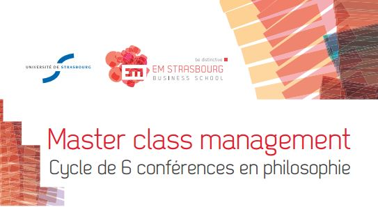 L'EM Strasbourg Business School lance son programme de Philosophie appliquée au management