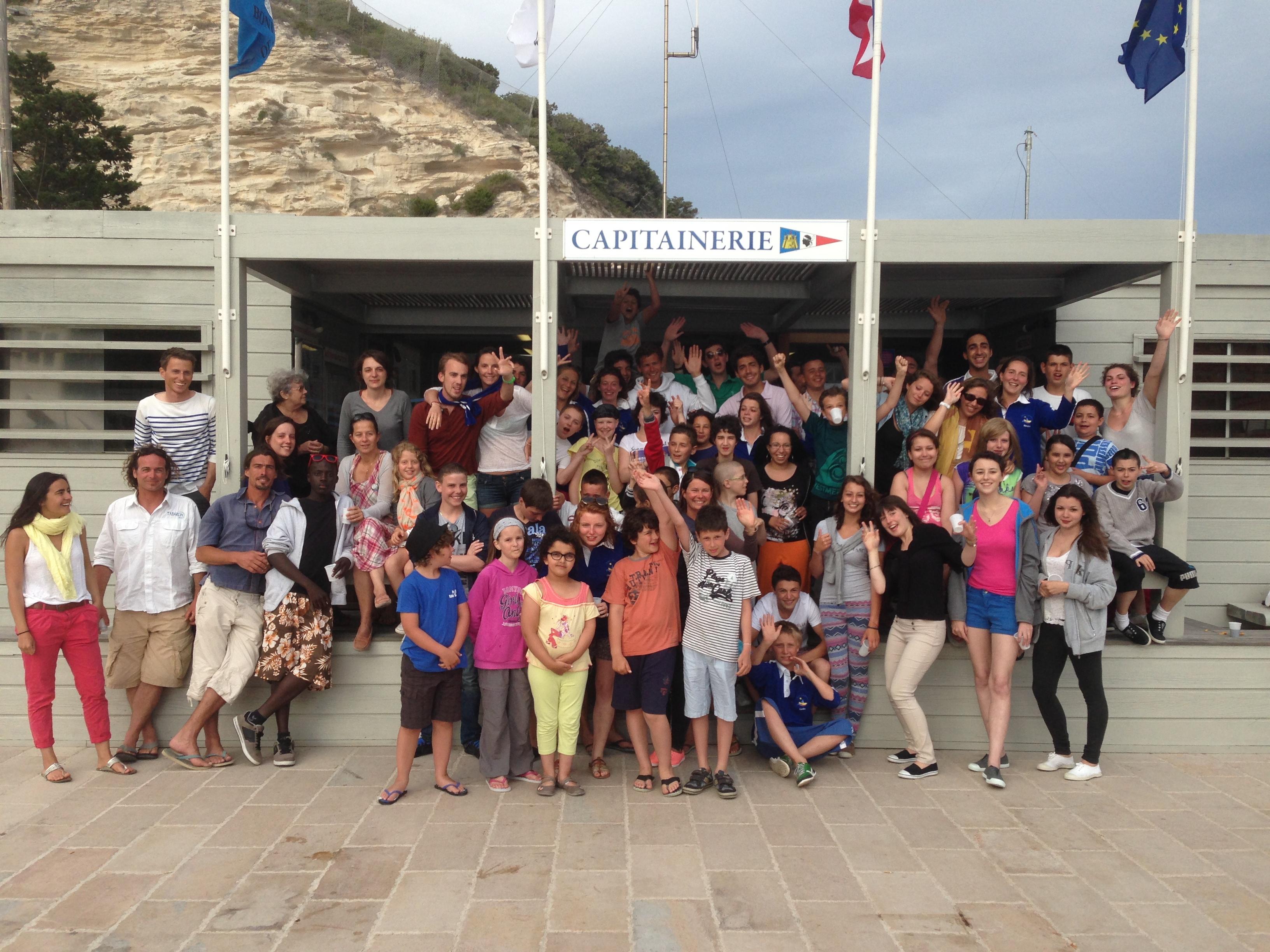 Rêve d'enfance, 10 jours de périple autour de l'Île de beauté pour 35 moussaillons !