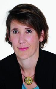 Delphine Grison,  directrice du pôle numérique  de Lagardère Active.