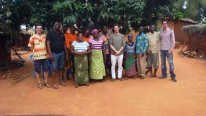 Le Comité Villageois formé pour la projet de Djékotoé ©Credit's Mines