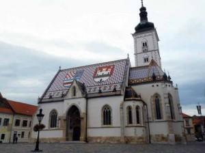Eglise Saint- Marc à Zagreg