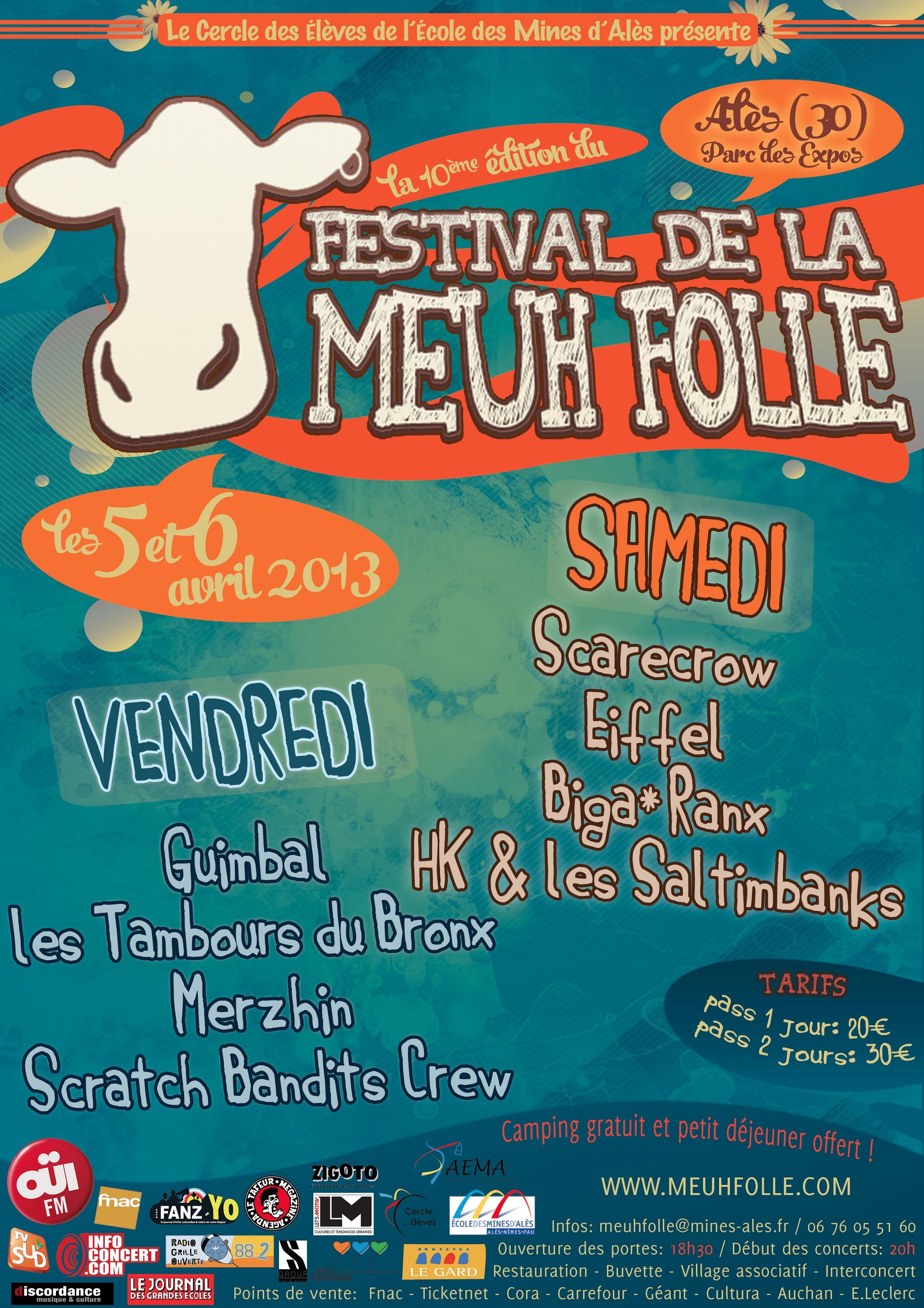 Le Festival de la Meuh Folle fête ses 10 ans déjà !