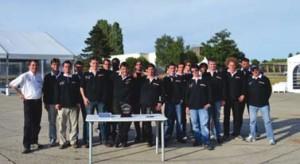 L'équipe en charge du prototype Virtuoz (saison 2011)