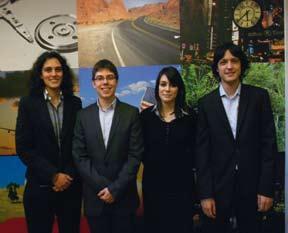 L'équipe des étudiants de l'ECE paris / projet Defi H