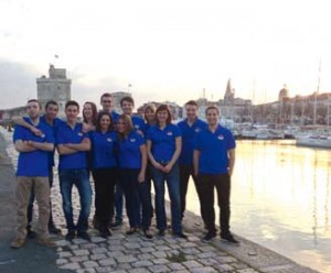 L'équipe organisatrice des Nautics Games