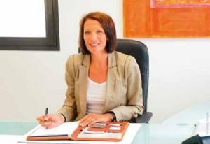 Stéphanie Pauzat, gérante de Mil Eclair est la présidente régionale de la CGPME Basse-Normandie. Elle vient de signer une convention de partenariat avec l'EM Normandie. © Maryvonne Desdoits