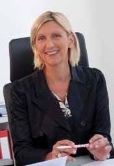 Isabelle Barth, directrice générale d'EM Strasbourg ( En 2014, elle a co-rédigé un essai intitulé « La manager et le philosophe » avec Yann-Hervé Martin paru chez Le Passeur ) © Marie Faggiano