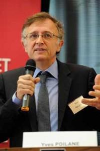 Yves Poilane, vice-président de Pasc@line et directeur de Télécom ParisTech © Fabienne Delattre