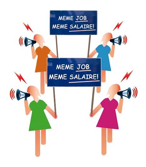 Les femmes toujours moins rémunérées que leurs homologues masculins