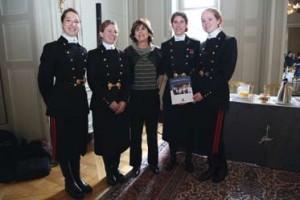 Marion Guillou (73) ancienne présidente du conseil d'administration de l'Ecole polytechnique avec la relève des Femmes de progrès