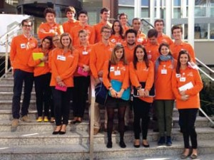L'équipe de Linkedge lors de la convention APM (Association progrès du management)