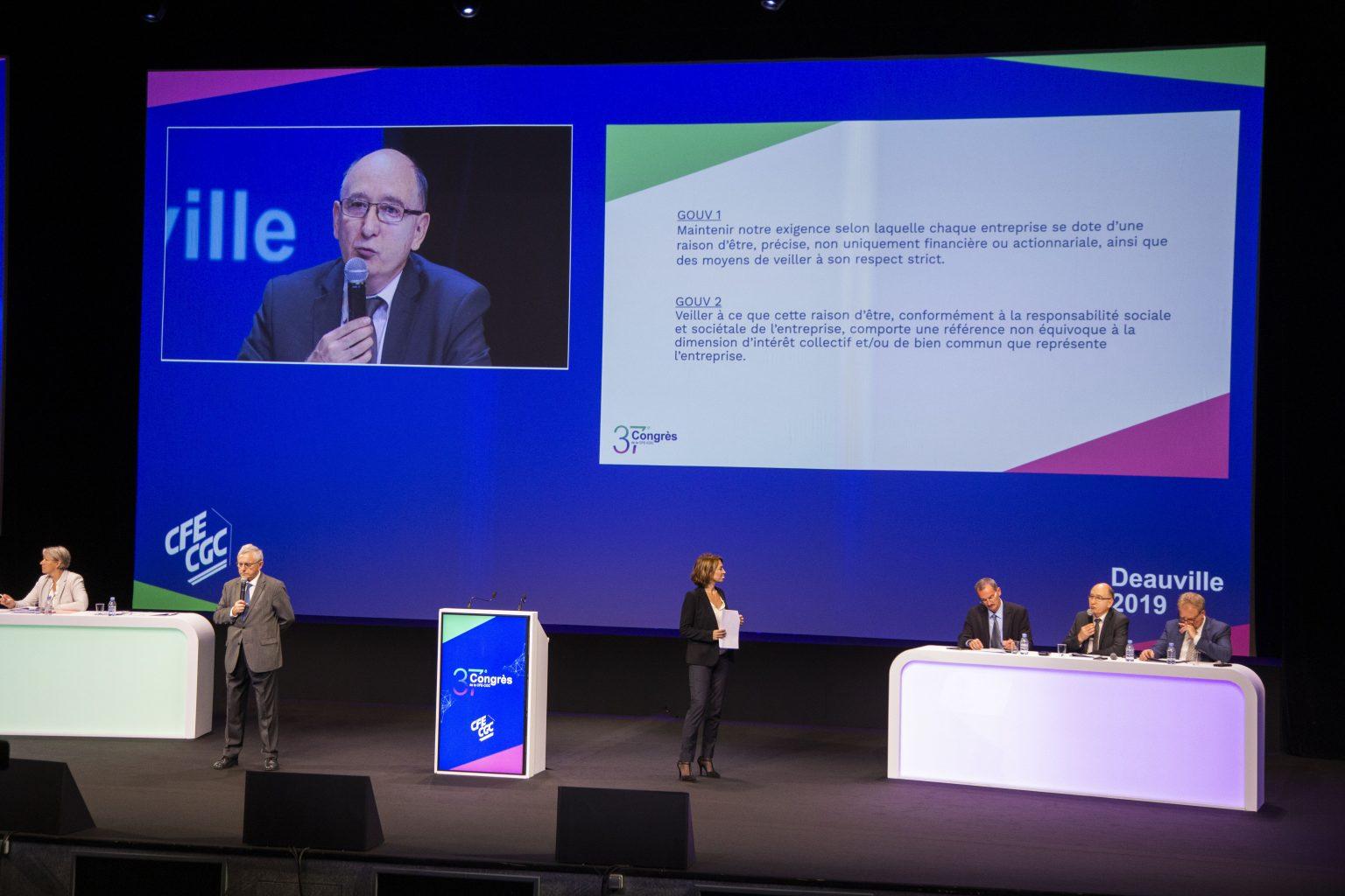 Construisez l'entreprise du futur avec la CFE-CGC - L'interview de Gérard Mardiné