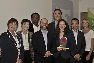 Hélène Grassin, fondatrice de Paulette à Bicyclette, lauréate du Prix Entrepreneure Responsable 2015