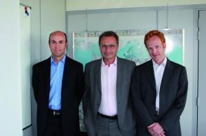 Patrick Sévian, Frédéric De Graeve et Olivier Bougaut
