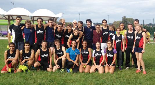 L'athlétisme à l'INSA Lyon