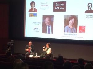 Business Talk Ruth Elkrief et Pierre Gattaz