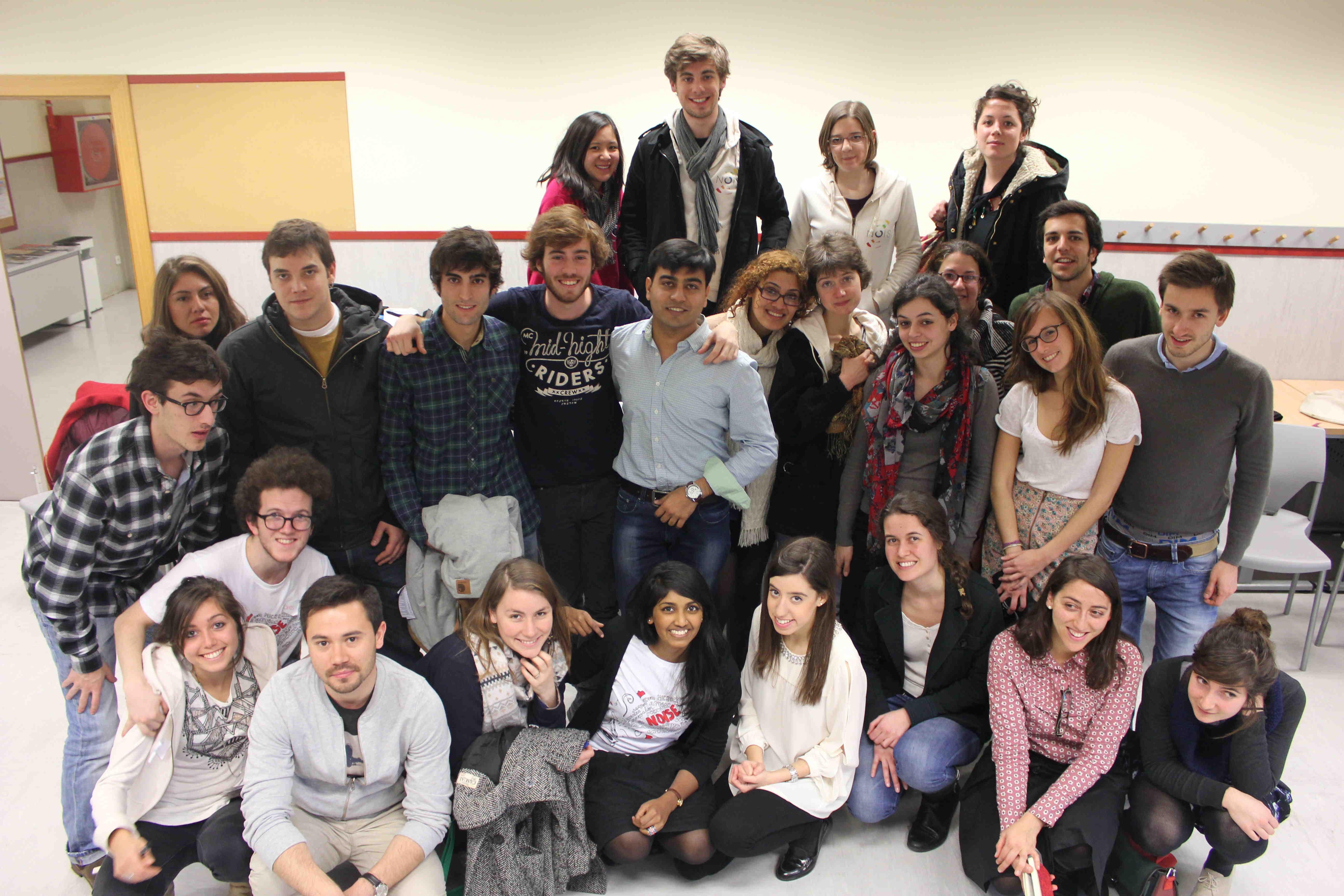 Première Rencontre Etudiante Européenne pour l'Innovation Sociale à Madrid