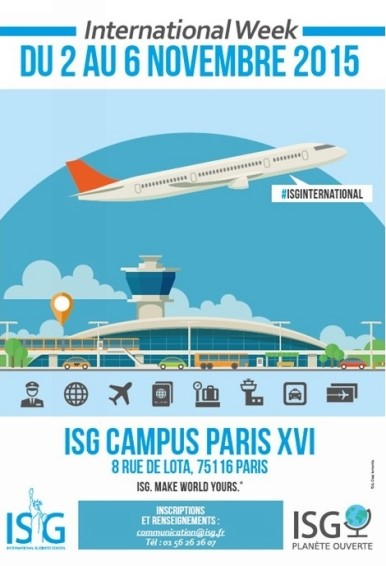 L'ISG lance la 1ère édition de l'International Week