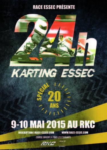 24 H Karting ESSEC- Entrez dans la légende