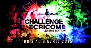 Affiche Officielle du Challenge Ecricome 2015 qui se déroule à Marseille.