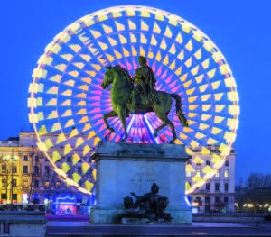 Place Bellecour statue of King Louis XIV, Lyon @ Fotolia