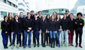 L'équipe Junior Conseil Phelma 2014-2015