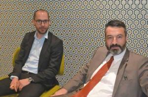 Romain Boix, Président et Nicolas Sarkadi (HEC Paris 95), Directeur Général de cette LMDE renaissante
