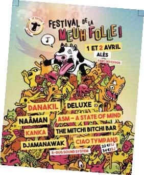 Festival de la Meuh Folle 2016 : 13e édition