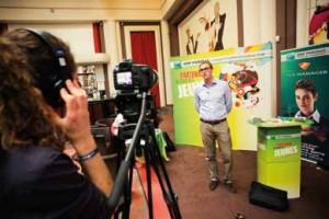 BNP Paribas interviewé lors du forum de recrutement des partenaires