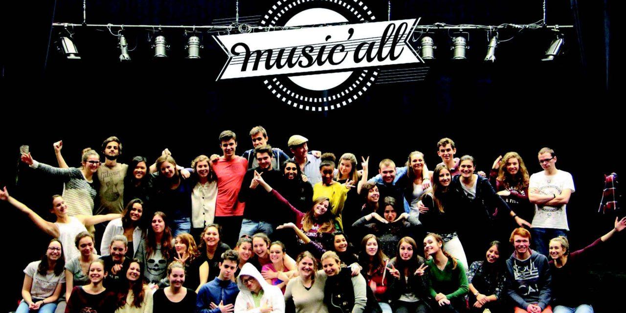 Music'All, une comédie musicale originale et solidaire